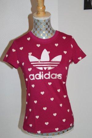 Adidas Shirt Gr. XXS (10) Herzchen