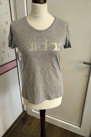 Adidas Camisa deportiva gris claro