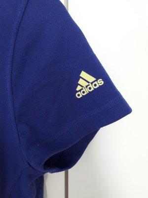 Adidas T-shirt de sport bleu