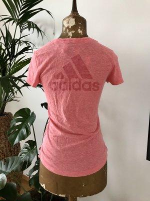 Adidas Koszulka sportowa jasnoczerwony