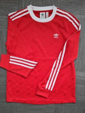 Adidas Camisa larga rojo