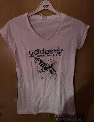 Adidas V-Neck Shirt multicolored