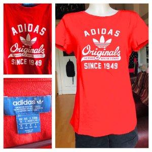 Adidas Shirt Rot unisex S/M