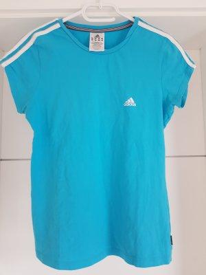 Adidas Sportshirt turkoois