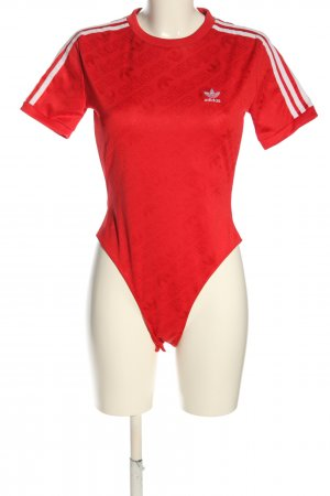 Adidas Shirt Body red printed lettering athletic style