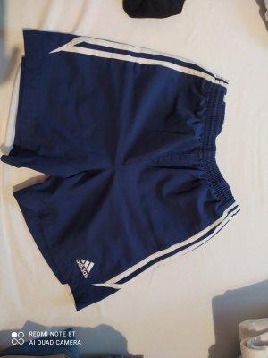 Adidas Sportshort staalblauw