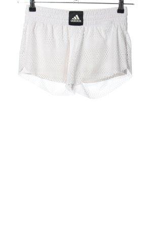 Adidas Shorts weiß schlichter Stil