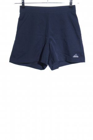 Adidas Shorts blue printed lettering simple style