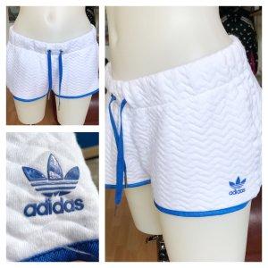Adidas Shorts weiß blau S