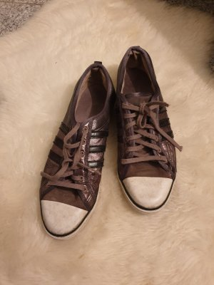 adidas silber grün weiß grau schnürsneaker 41 Schuhe sneaker Sportschuhe