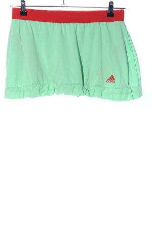 Adidas Skaterrock grün-rot Casual-Look