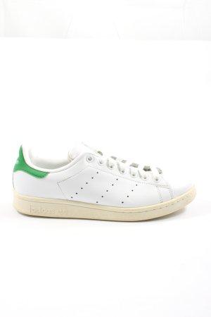 Adidas Buty skaterskie biały-zielony Nadruk z motywem W stylu casual