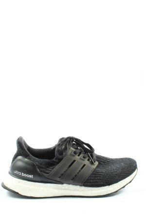 Adidas Chaussure skate noir Motif de tissage style athlétique