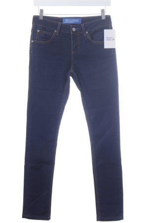 Adidas Skinny Jeans dunkelblau schlichter Stil