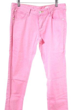 Adidas Skinny Jeans rosa Casual-Look