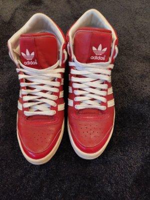 Adidas Originals Sneakers met veters wit-rood