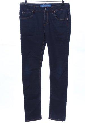 Adidas Slim Jeans blau Casual-Look