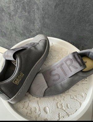 Adidas Slip-on Sneakers dark grey