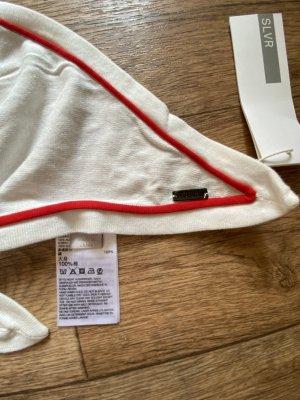 Adidas SLVR Écharpe en laine blanc-rouge