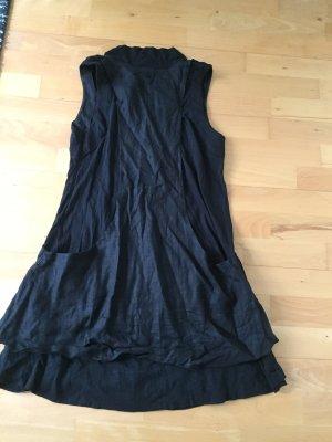 Adidas SLVR Kleid Leinen schwarz S 36