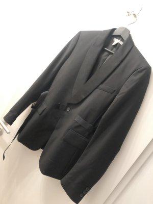 Adidas SLVR Boyfriend blazer zwart Wol