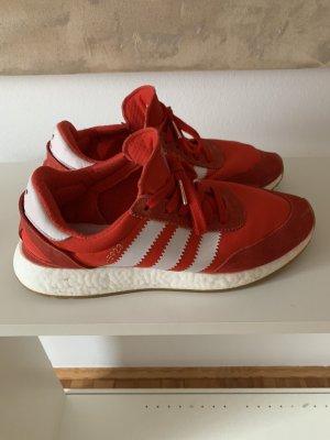 Adidas Sneaker 1-5923 rot/weiß