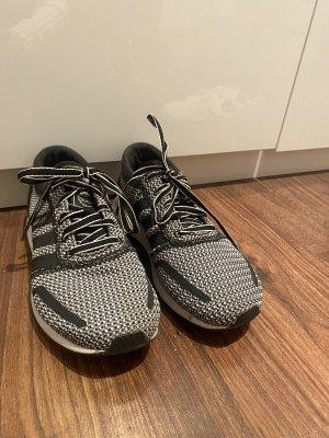Adidas Originals Sznurowane trampki ciemnoszary-ciemnoniebieski