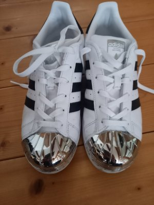 Adidas Originals Sneakers met veters zwart-wit Gemengd weefsel