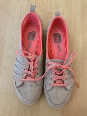Adidas NEO Sneakers met veters room-lichtrood