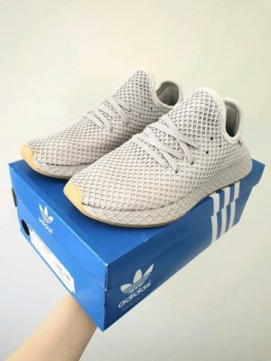 Adidas Basket slip-on gris clair