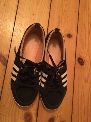 Adidas Zapatillas deslizantes azul oscuro