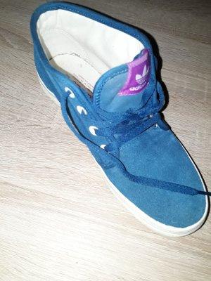 Adidas Originals Sznurowane trampki chabrowy