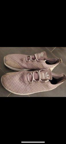 Adidas Sznurowane trampki stary róż