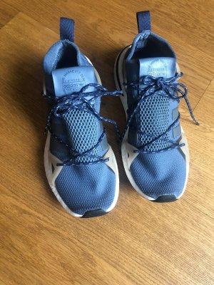 Adidas Sneaker stringata grigio ardesia-blu fiordaliso