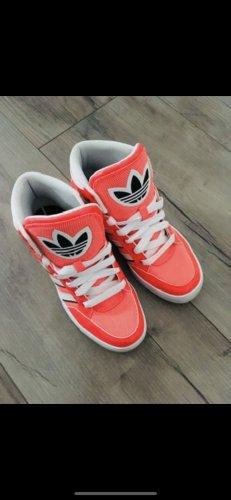 Adidas Zapatos de patinador rojo