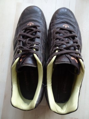 """Adidas Sneaker """"Goodyear Racer"""" - Echtleder, braun, Gr. 39 (7,5), neuwertig!"""