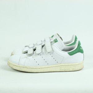 Adidas Originals Sneaker con strappi bianco-verde Pelle