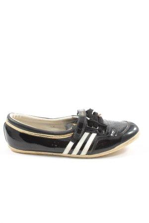 Adidas Sneaker Klettverschluss schwarz Casual-Look