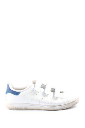 Adidas Trampki na rzepy biały-niebieski W stylu casual