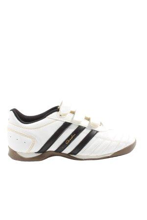 Adidas Sneaker Klettverschluss weiß-schwarz Casual-Look