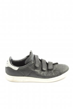 Adidas Zapatillas con hook-and-loop fastener negro-blanco look casual