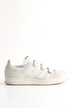 Adidas Sneaker Klettverschluss weiß-wollweiß Animalmuster Elegant