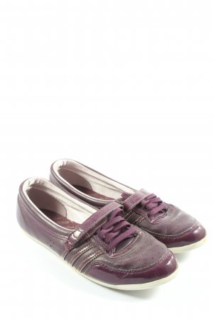 Adidas Basket hook-and-loop fastener violet style décontracté