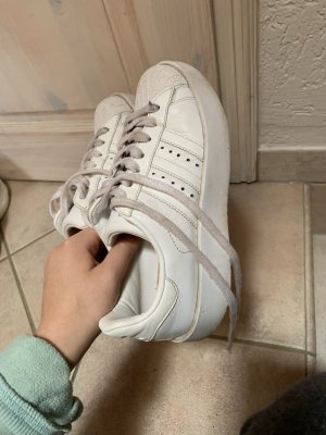 Adidas Sneaker con tacco bianco
