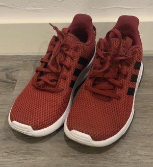 Adidas Zapatilla brogue rojo oscuro-negro