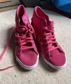 Adidas NEO Zapatillas altas rosa