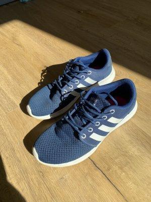 Adidas Sznurowane trampki ciemnoniebieski