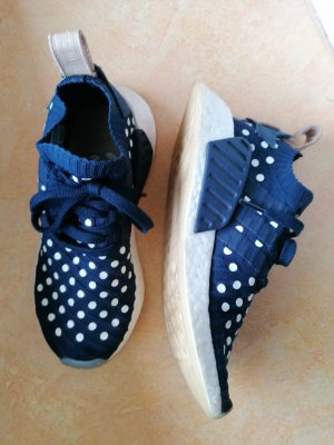 Adidas NMD Instapsneakers wit-donkerblauw