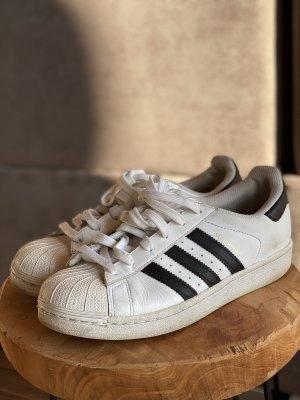Adidas Originals Sznurowane trampki czarny-biały