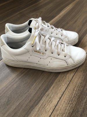 Adidas Originals Zapatilla brogue blanco-color oro